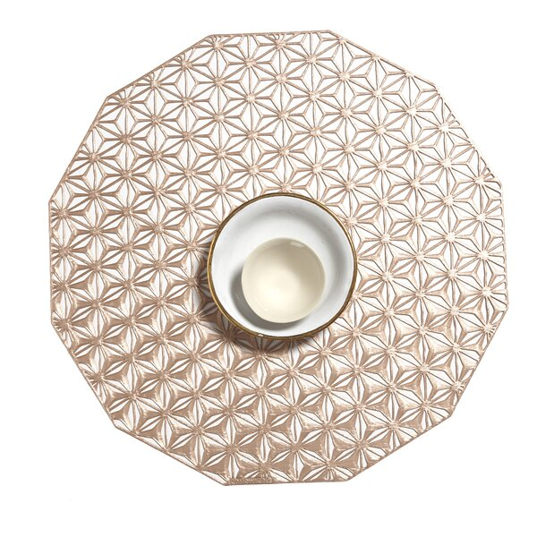 Pressed Kaleidoscope Table 14 Placemat by Chilewich