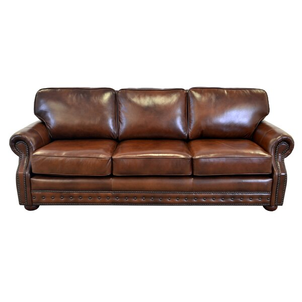 Perfect Brands Middleton Leather Sofa by Westland and Birch by Westland and Birch