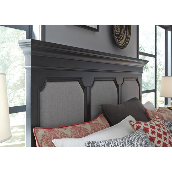 Earley Upholstered Panel Headboard by Darby Home Co