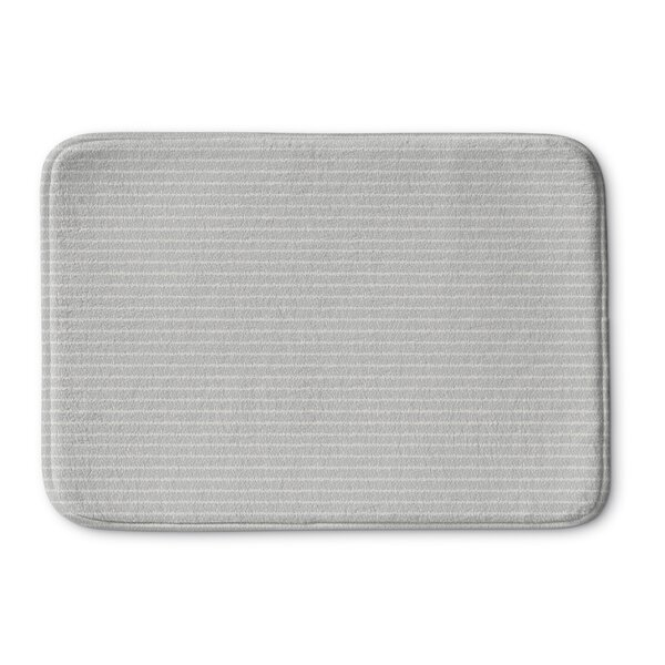 Quentin Andreas Memory Foam Bath Rug by The Twillery Co.
