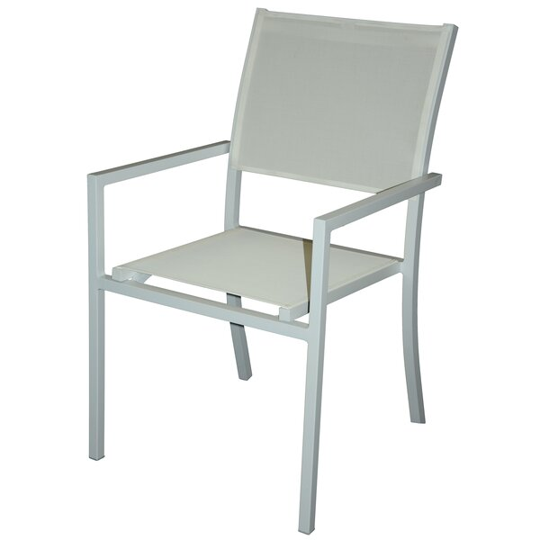 Hanrahan Stacking Patio Dining Chair (Set of 6) by Brayden Studio