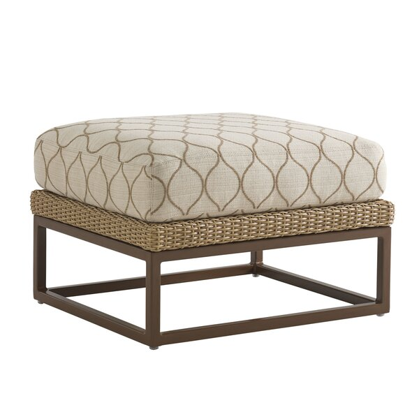 Aviano Ottoman with Cushion by Tommy Bahama Outdoor