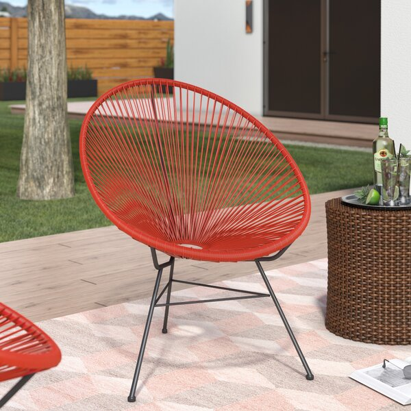 Bradley Acapulco Papasan Outdoor Chair by Ivy Bronx
