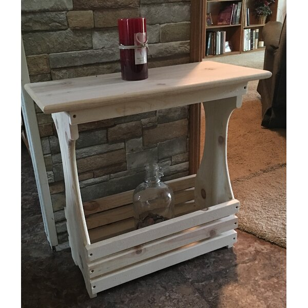 Anyan Solid Wood End Table By Millwood Pines