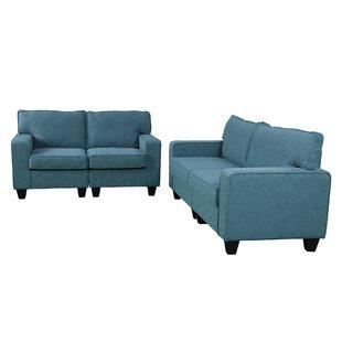 Heneretta 2 Piece Living Room Set by Latitude Run®