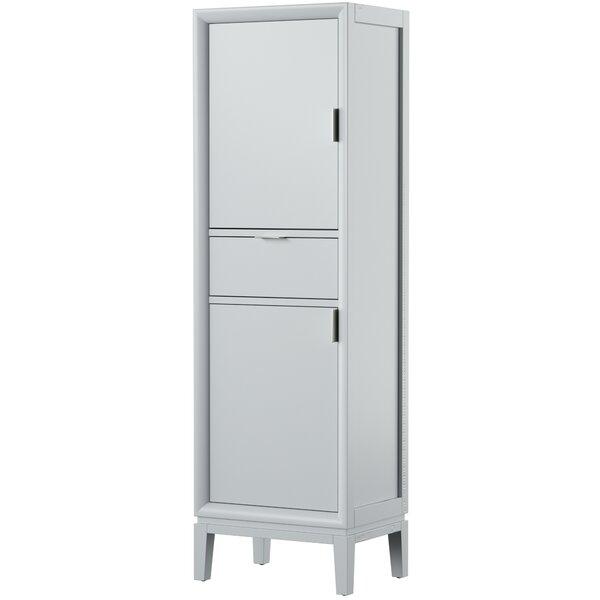 Wigley 20 W x 65 H x 15 D Linen Cabinet