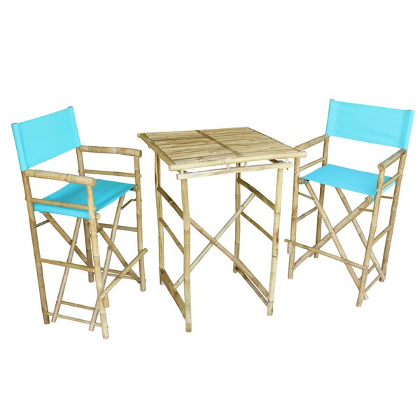 Aurelio 3 Piece Pub Table Set by Bay Isle Home