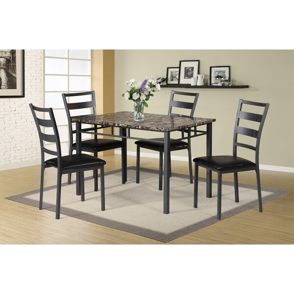 Modern Mcchristian 5 Piece Upholstered Dining Chair Set Set Of 4
