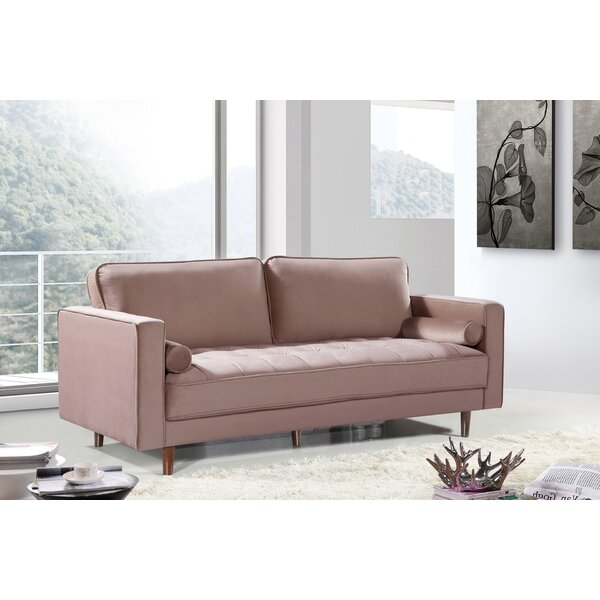 Closeout Pamula Sofa by Everly Quinn by Everly Quinn