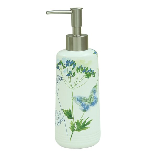 Wildflower Lotion Dispenser by Bacova Guild