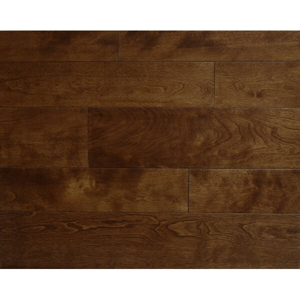 Stanford 3-1/2 Solid Maple Hardwood Flooring in Maple by Alston Inc.
