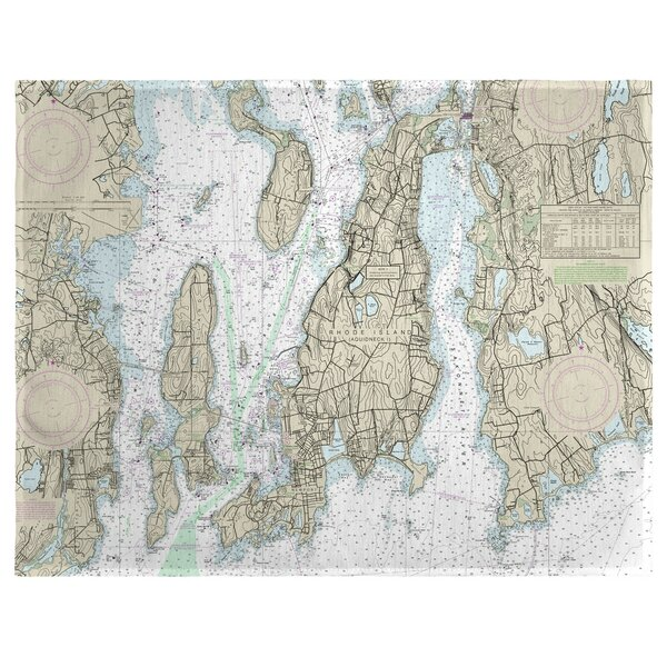 Narragansett Bay, RI 18 Placemat (Set of 4) by East Urban Home