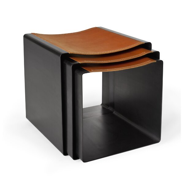 3 Piece Flex Accent Stool Set by Miles & May