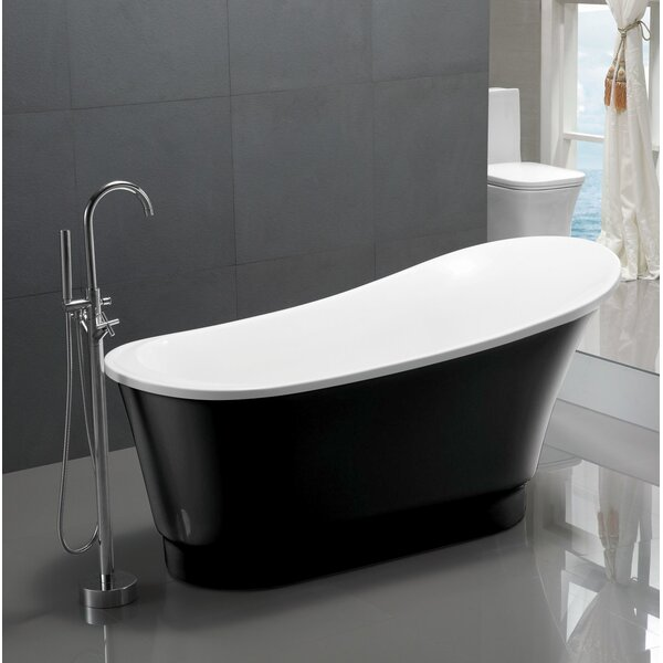 Prima Series 67 X 31 Freestanding Soaking Bathtub By Anzzi.