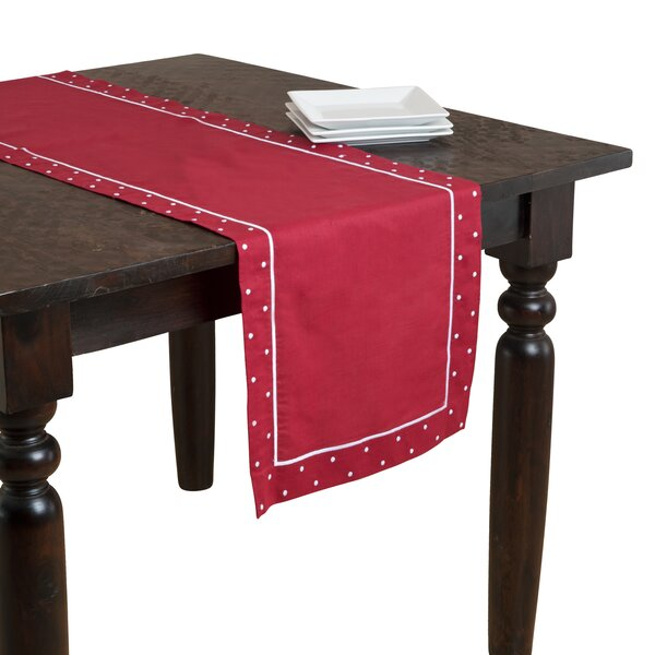 Embroidered Table Runner by Saro