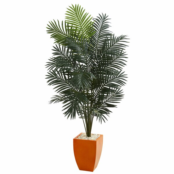 Artificial Floor Palm Tree in Planter by Latitude Run