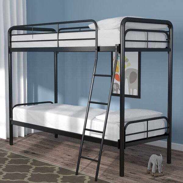 Maryanne Twin Over Twin Bunk  Bed By Viv + Rae by Viv + Rae Fresh