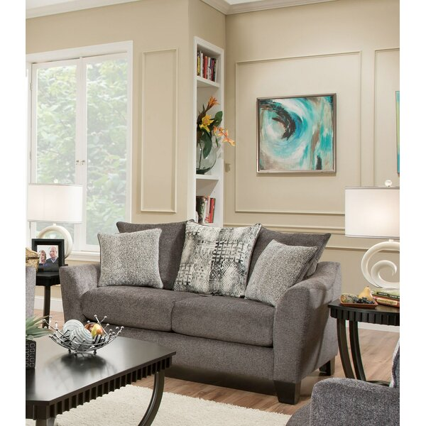 Beautiful Modern Hernandez Loveseat by Latitude Run by Latitude Run