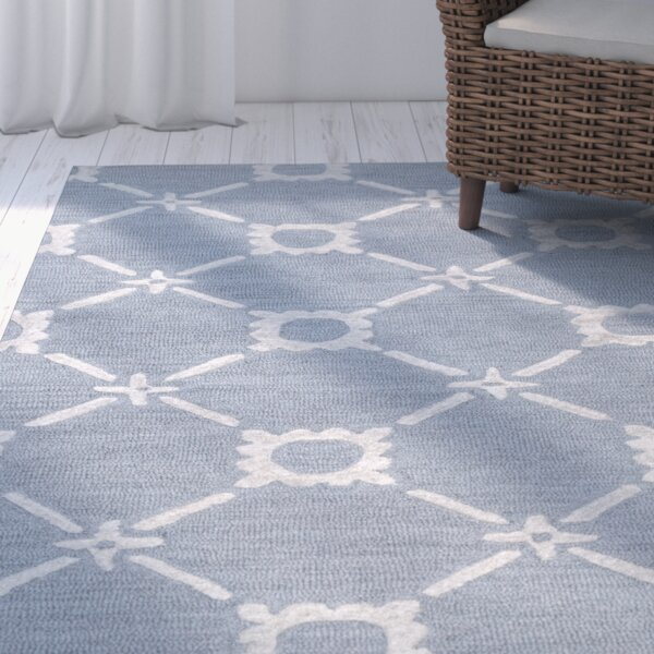 Anniedale Hand-Tufted Gray Area Rug by Beachcrest Home