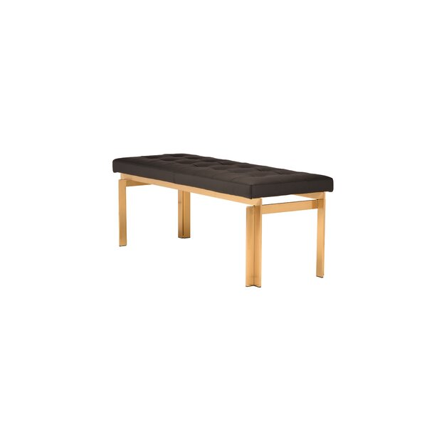 Guisborough Upholstered Bench By Everly Quinn Discount