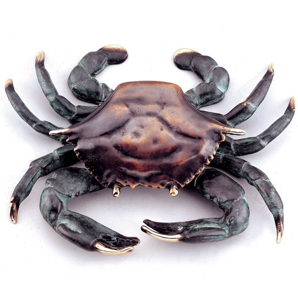 Decorative Crab Doorknocker by SPI Home