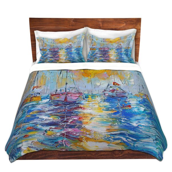 Sailboats Ancho Duvet Cover Set