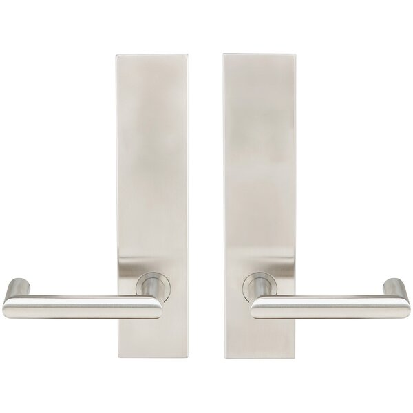 Stuttgart Dummy Mortise Handleset by INOX®