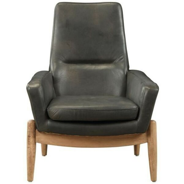 Mejia Top Grain Leather Armchair by 17 Stories