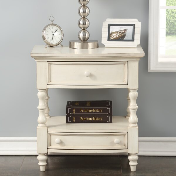 Rayshawn 2 Drawer Nightstand by Ophelia & Co.