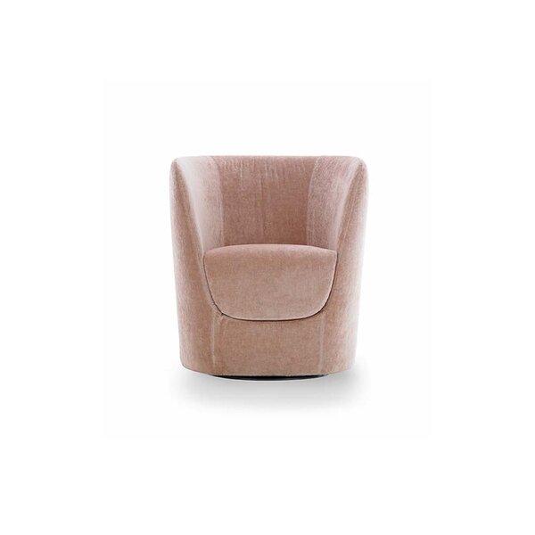 Oplà Swivel Barrel Chair by Pianca USA