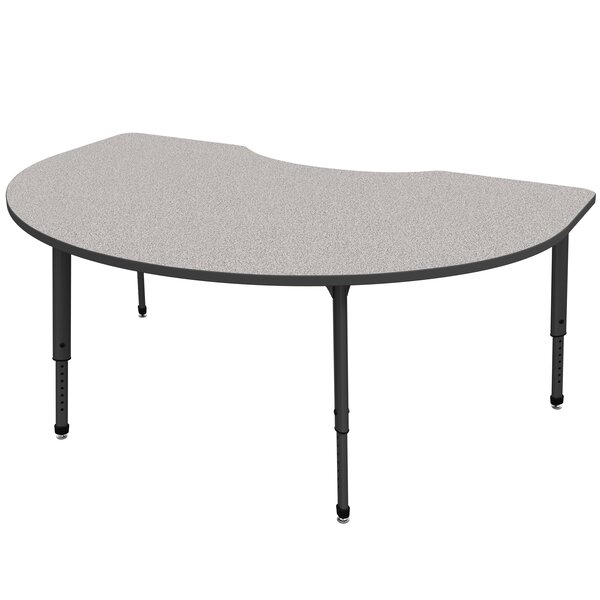 Apex Series 72 x 48 Kidney Activity Table by Marco Group Inc.