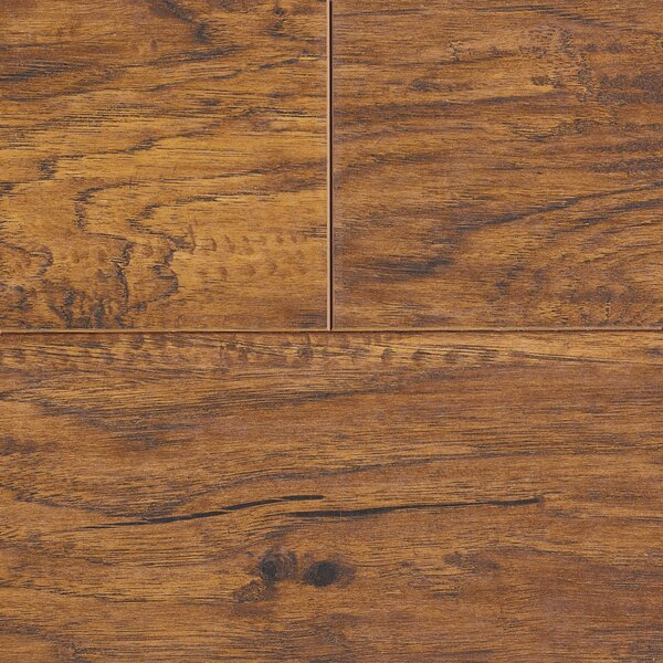 Revolutions 5'' x 51'' x 8mm Louisville Hickory Laminate Flooring in Spice by Mannington