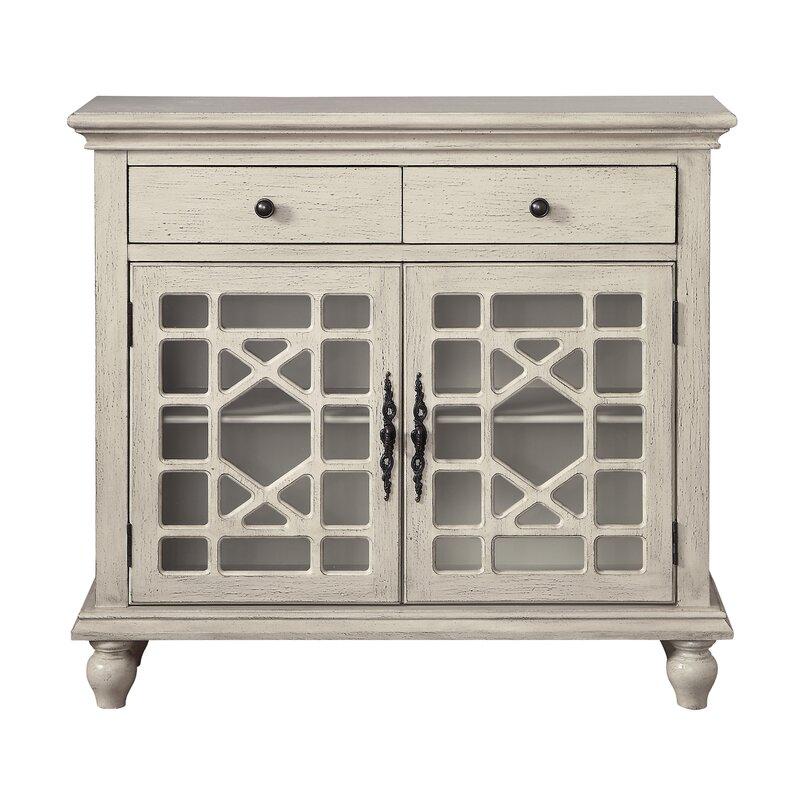 Mauldin 2 Drawer 2 Door Cabinet