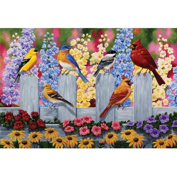 Rayson Spring Garden Party Doormat by Winston Porter