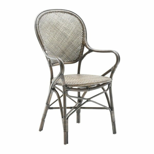 Ojas Stacking Patio Dining Chair by Bungalow Rose