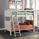 Roxane Twin over Full Bunk Bed by Harriet Bee