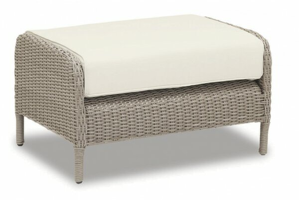 Manhattan Ottoman with Cushion by Sunset West