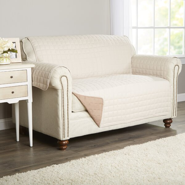 Wayfair Basics Box Cushion Loveseat Slipcover by W