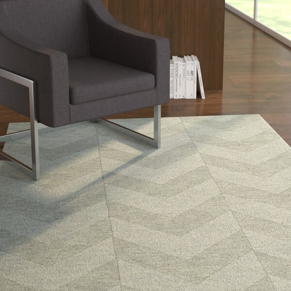 Dobson Handmade Spa Area Rug by Ebern Designs