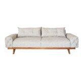 Dustin 89 Square Arm Sofa by George Oliver