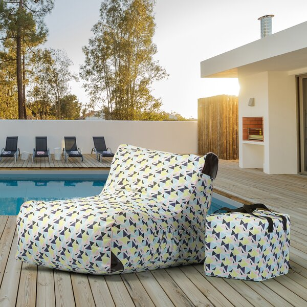 Paola Standard Outdoor Friendly Bean Bag Lounger By Ove Decors