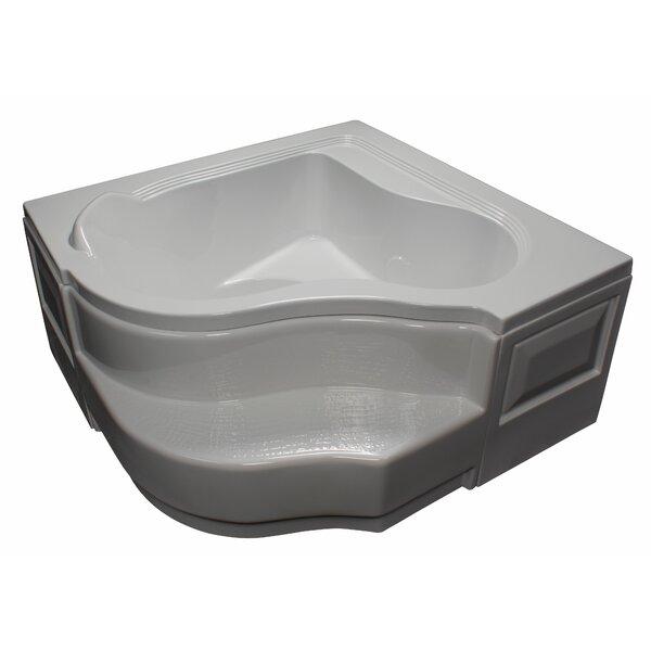 60 x 60 Soaking Bathtub by American Acrylic