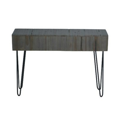 Lohan Rustic Console Table by Union Rustic