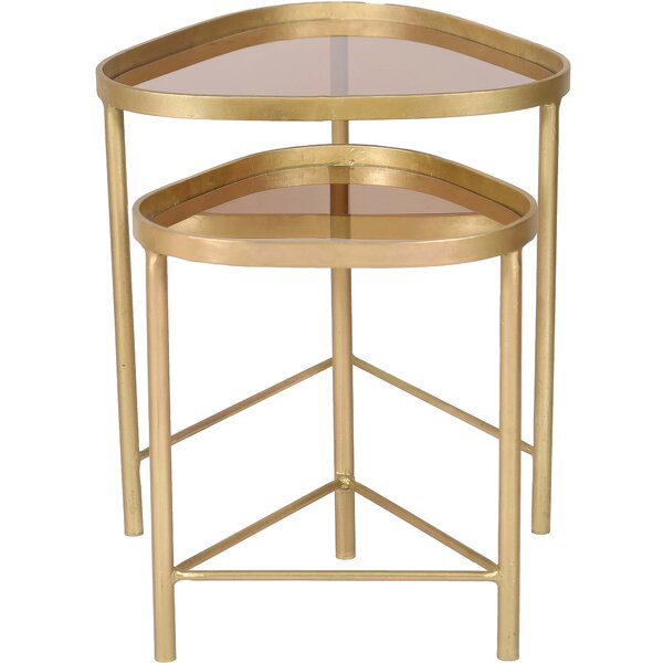 Hertford 2 Piece Nesting Tables by Everly Quinn