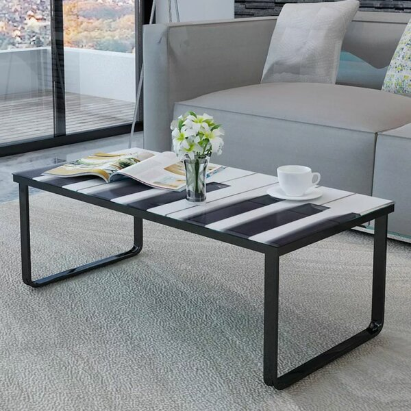 Widnes Piano Printing Coffee Table By Ebern Designs