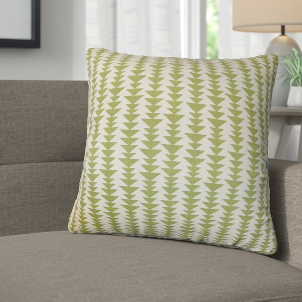 Lorelai Geometric Cotton Throw Pillow (Set of 2) by Corrigan Studio