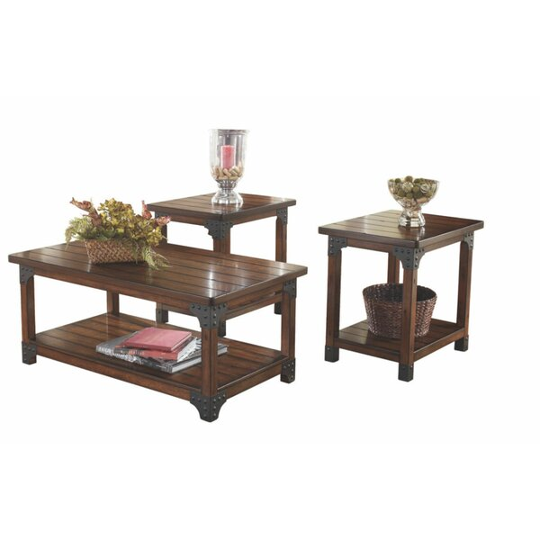 Lofton 3 Piece Coffee Table Set by 17 Stories