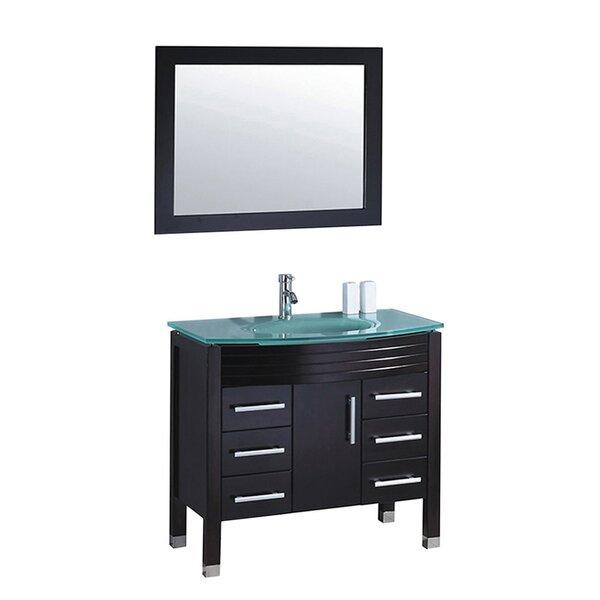 Prall 47 Single Bathroom Vanity Set with Mirror by Orren Ellis