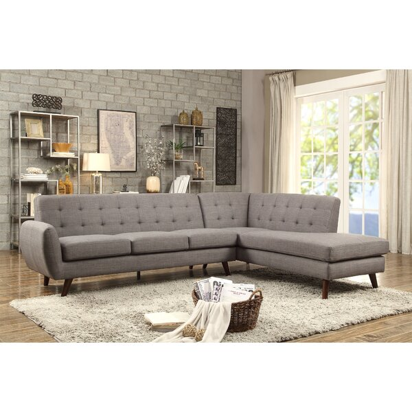 Buy Online Bartsch Right Hand Facing Sectional by George Oliver by George Oliver