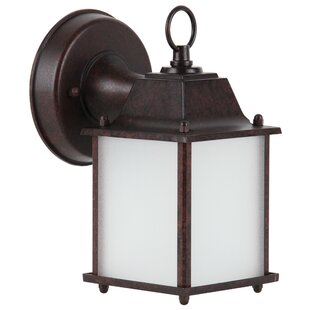 Compare 1-Light Outdoor Wall Lantern By Sunset Lighting